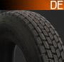 295/60R22.5 DE protektorované pneu pre nákladné vozidlo